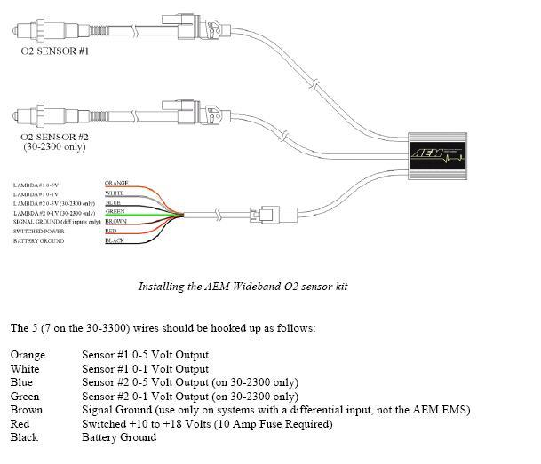 tuning install aem duel wideband uego controller 3000gt