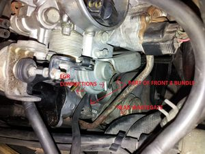 engine vacuum hose reduction 3000gt stealth wiki rear wastegate and egr connections