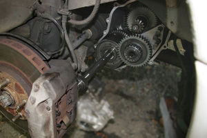 Transmission: Replace Output Shaft - 3000GT/Stealth Wiki